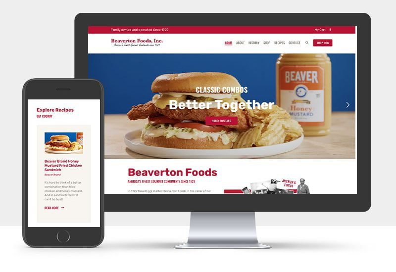 Portfolio: Beaverton Foods | The Gorilla Agency