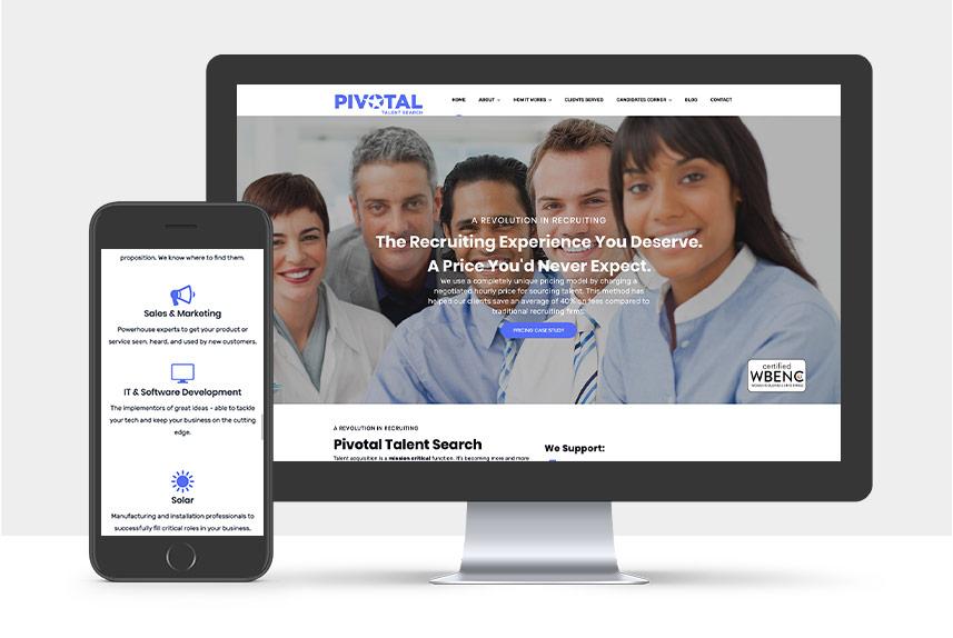 Portfolio: Pivotal Talent Search | The Gorilla Agency