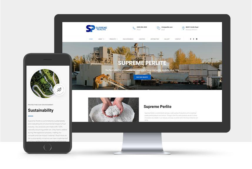 Portfolio: Supreme Perlite Company | The Gorilla Agency